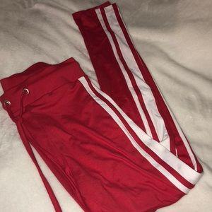 f3162fba68 Pants | Sommer Ray Red Leggings Nwt | Poshmark